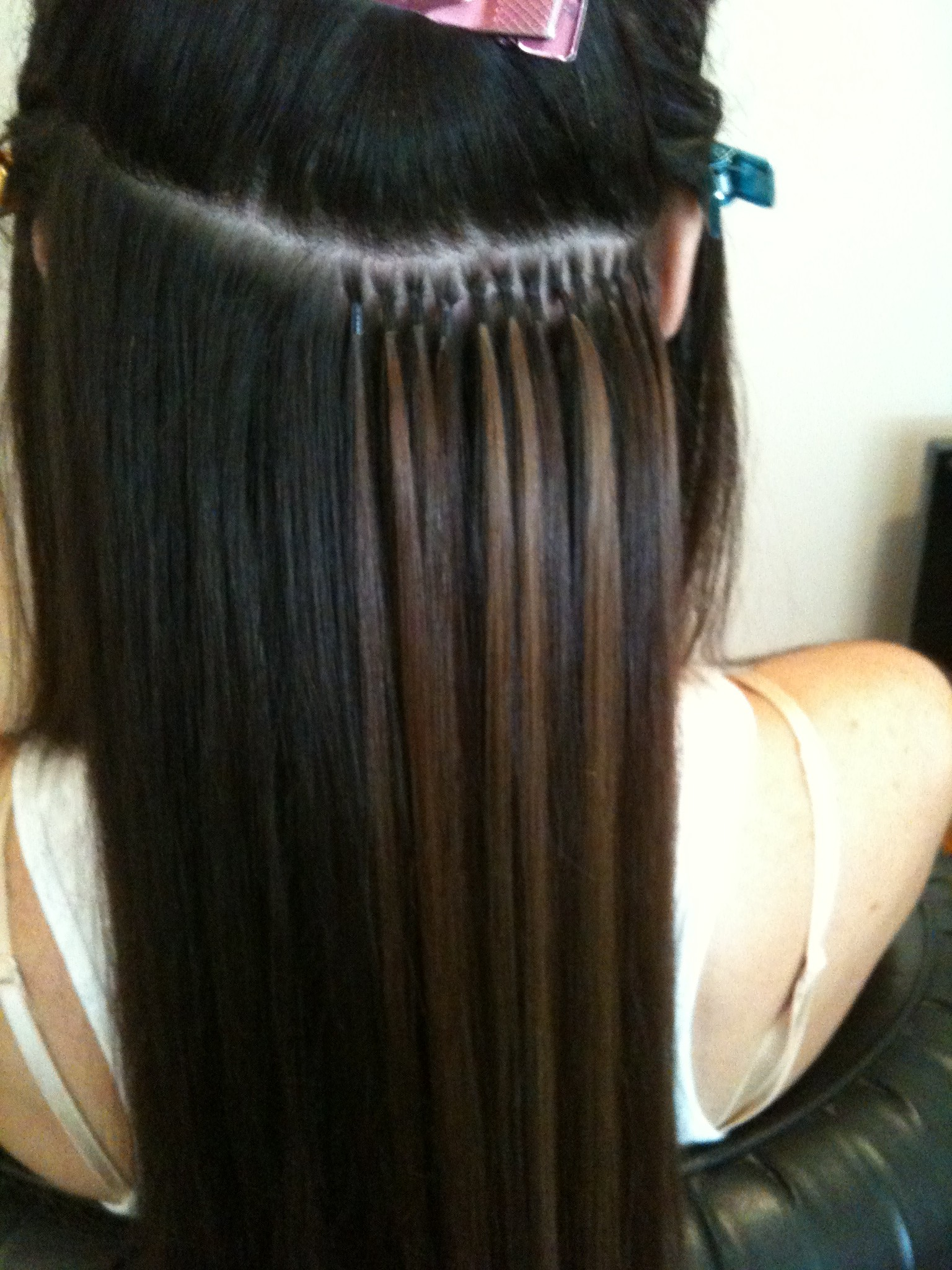 Olivia Christensen Virgin Human Hair Extensions Quality